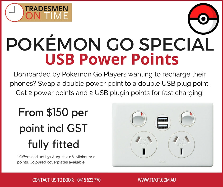 TMOT Specials Pokemon Go