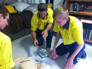 TMOT first aid refresher training