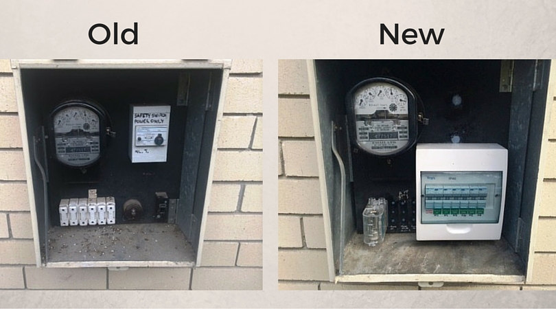 Switchboard Upgrade – Before & After