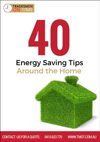 40 Energy Saving Tips