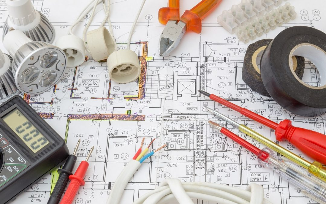 Create electrical plans before renovating to save yourself time and money
